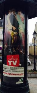 Colonne Morris - Le Chesnay TV