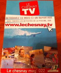 Flyer Le Chesnay TV