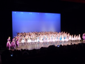 Spectacle de danse à la Grande scène du Chesnay